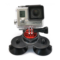 Держатель SJCAM Accessories Triple Suction Cup