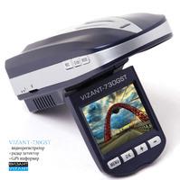 Видеорегистратор с антирадаром Vizant 730GST