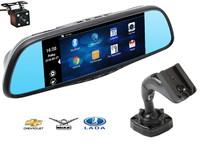 Зеркало-видеорегистратор Recxon RX-7 Android для Chevrolet, UAZ, Lada