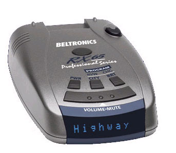 Beltronics RX65 RU (blue)