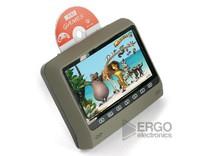 """Навесной монитор ERGO 9"""" с DVD / серый"""