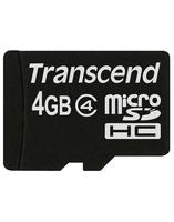 Карта памяти Transcend microSD 4 Gb 10 Class