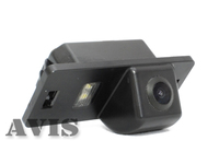 Камера заднего вида AVIS для Volkswagen Golf V Plus / Golf VI Plus / Jetta VI / Passat B7 / PASSAT B7 Variant / Polo V Sedan / Sharan II / Touran (2011-...) / Touareg II