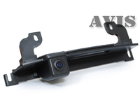 Камера заднего вида AVIS для Nissan Tiida хэтчбек (в ручку багажника)