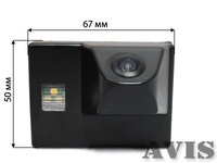 Камера заднего вида AVIS для Lexus GX470 и LX470