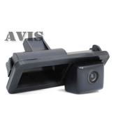 Камера заднего вида AVIS для Ford C-MAX, Fiesta VI, Focus II, Kuga, S-Max (в ручке багажника)