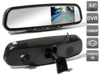 Зеркало-видеорегистратор AVS0475DVR