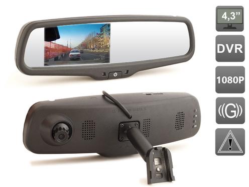 Зеркало видеорегистратор AVIS Crown