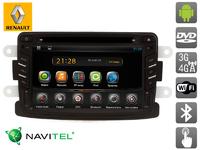 Штатная автомагнитола AVIS на Android для Renault Duster (2011-...)/Logan II (2014-...)/Sandero II (2014-...)