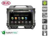 Штатная автомагнитола AVIS для KIA Sportage III (2010-...) (Android 4.2.2)