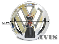 Камера переднего вида AVIS для Volkswagen