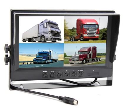 Монитор Carsmile CME94QD (возможность подключения 4 камер)