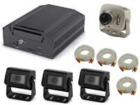 Комплект видеонаблюдения на транспорте Carsmile VC-101 (4 камеры, HDD)