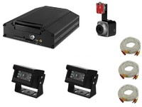 Комплект видеонаблюдения для спецтехники Carsmile VC-105-1 (3 камеры, HDD, разрешение HD)
