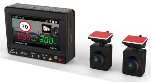 Видеорегистратор Inspector Scirocco (2 выносные камеры)