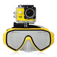 Подводная дайвинг маска SJCAM Accessories Dive Mask