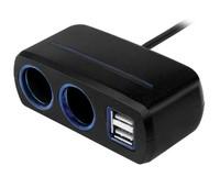 Neoline SL-221 разветвитель с проводом на 2 прикуривателя и 2 USB