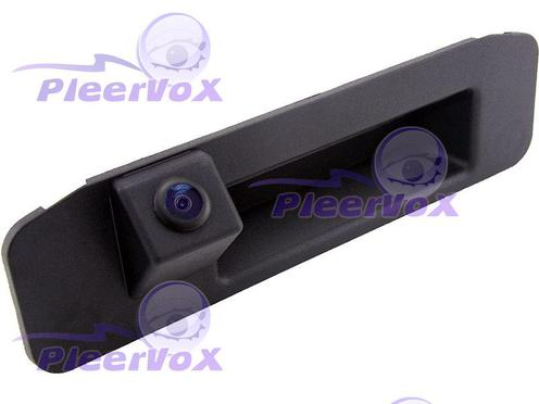 Камера заднего вида Pleervox PLV-CAM-MB12 для Mercedes GLK класса (X204) в ручку багажника