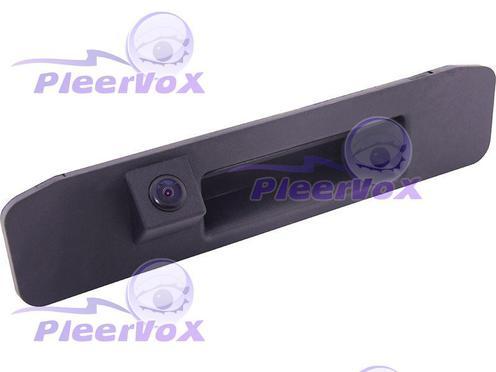 Камера заднего вида Pleervox PLV-CAM-MB13 для Mercedes A класса (W176) и ML класса (W166) в ручку багажника
