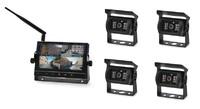 Беспроводной парковочный комплект Carsmile CM-718WDV (4 камеры) с возможностью записи