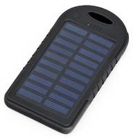 Внешний аккумулятор Carsmile CM-5000 с солнечной батареей