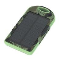 Внешний аккумулятор Carsmile CM-12000 с солнечной батареей