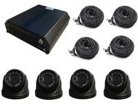Комплект видеонаблюдения для спецтехники Carsmile VC-244 (4 камеры, HDD, разрешение HD)