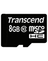 Карта памяти Transcend microSD 8 Gb 10 Class