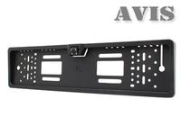 Камера в рамке номера AVIS (с LED подсветкой)