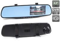 Зеркало-видеорегистратор Avis Galantine (2 камеры)