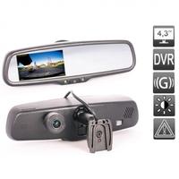 Зеркало-видеорегистратор AVS0488DVR Full HD AUTO DIMMING