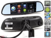 Зеркало-видеорегистратор AVIS TruWay (Android, 2 камеры)