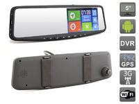 Зеркало-видеорегистратор с монитором AVIS Hakken на Android