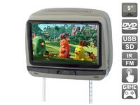 """Подголовник с сенсорным монитором 9"""" AVIS Cult (встроенный DVD) (серый)"""