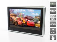 """Навесной монитор на подголовник AVIS Greencell (сенсорныq экран 10.1"""", встроенный DVD плеер, медиаплеер)"""