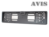 Камера переднего вида в рамке номера AVIS