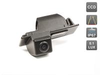 Камера заднего вида AVIS для Cadillac CTS II/ SRX II/ Chevrolet Aveo II (2012-...) / Cruze Hatchback