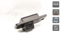 Камера заднего вида AVIS для Ford Focus II Sedan/ Skoda Octavia Tour