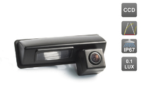 Камера заднего вида AVIS для Toyota Camry (2007-2011) / Harrier (2003-2008) / Ipsum (2001-2009) / Avensis Verso (2001-2009)
