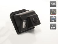 Камера заднего вида AVIS для Mazda СХ-5 / СХ-7 / СХ-9 / Mazda 3 Hatchback / Mazda 6 (GG, GY) Sedan (2002-2008) / Mazda 6 (GH) Sport Wagon (2007-2012)