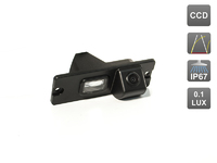 Камера заднего вида AVIS для Mitsubishi Pajero IV/ Pajero Sport I (1998-2008)
