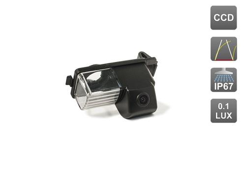 Камера заднего вида AVIS для Infiniti G35/ G37 / Nissan GT-R / Tiida Hatchback / 350Z