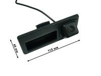 Камера заднего вида Audi A4 и A6 (в ручку багажника) Pleervox PLV-CAM-AU01