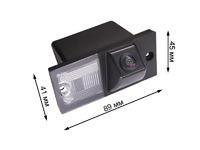 Камера заднего вида Pleervox PLV-CAM-HYN04 для Hyundai H1, Starex