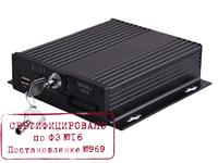 Видеорегистратор 4 канальный CVMR-2104s (1080p 1SD до 256GB,  ФЗ-16, 969)