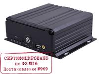 Видеорегистратор 4 канальный CVMR-2104D (1080p 1HDD + 1SD до 256GB,  ФЗ-16, 969)