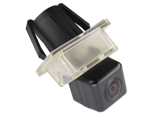 Камера заднего вида Pleervox PLV-CAM-MB02 для Mercedes C класса (W204), CL класса (W216), CLS класса (W218), E класса (W212), S класса (W221)