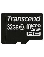 Карта памяти Transcend microSD 32 Gb 10 Class