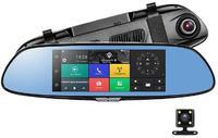 Зеркало видеорегистратор Eplutus D83 Андроид с 3 камерами