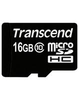Карта памяти Transcend microSD 16 Gb 10 Class